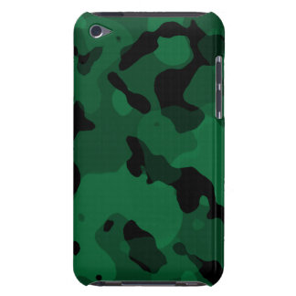Forest Green Camo; Camouflage iPod Touch Covers