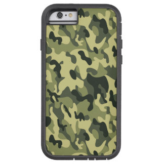 Forest Green Camouflage Design Tough Xtreme iPhone 6 Case