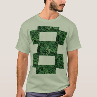 Forest Green Fern: T-Shirt