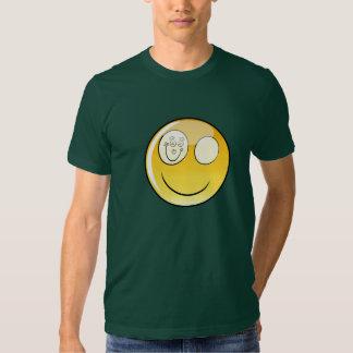 Forest Green Happy Eye T-Shirt