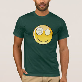 Forest Green Happy Eye T-Shirt