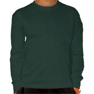 Forest Green Kids Long Sleeved T shirt