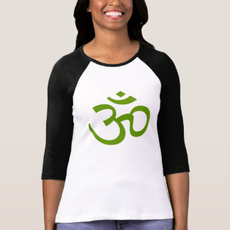 Forest Green Om or Aum ॐ.png T-shirt