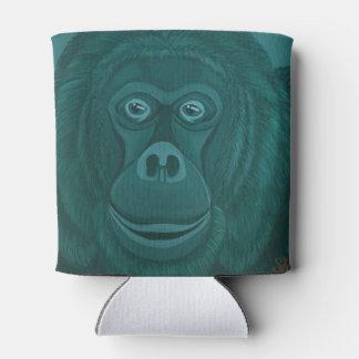 Forest green Orangutan Can Cooler