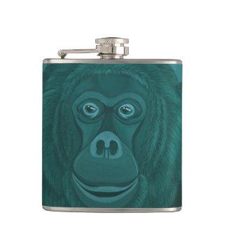 Forest Green Orangutan Flask