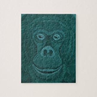 Forest Green Orangutan Puzzle