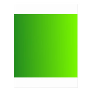 Forest Green to Lawn Green Vertical Gradient Postcard