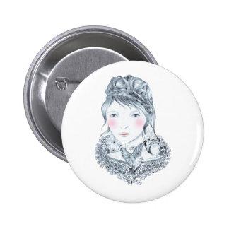 Forest Heart 6 Cm Round Badge
