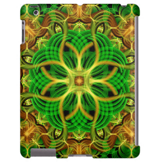 Forest Heart Mandala iPad Case