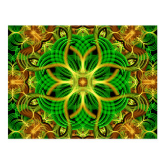 Forest Heart Mandala Postcard