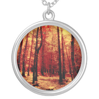 Forest Heat Personalized Necklace