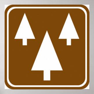 Forest Highway Sign