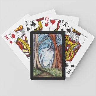 Forest Illusion Deck of Playing Cards