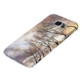 Forest in Autumn Samsung Galaxy S6 Cases