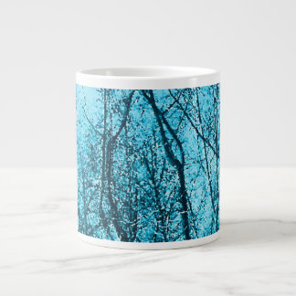 Forest In Azure Extra Large Mugs