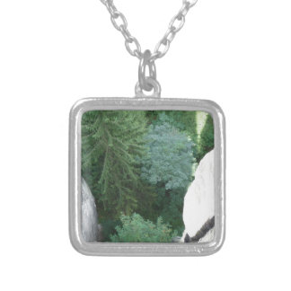Forest in germany personalized necklace