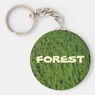 Forest Key Ring