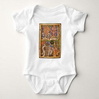 Forest Landscape By Meister Der Carmina Burana (Be Baby Bodysuit
