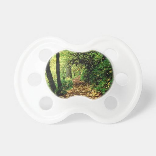 Forest Maple Lined Silver Trail Silver Falls Baby Pacifier