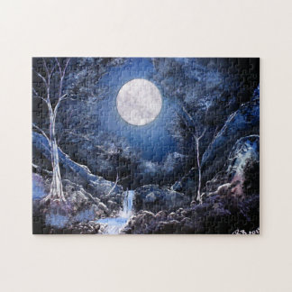Forest Moon Jigsaw Puzzle