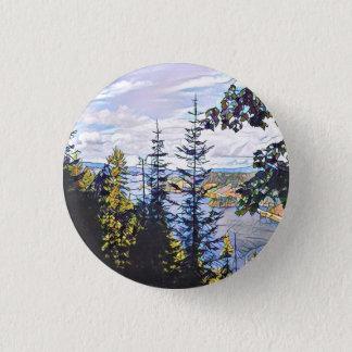 Forest Mosaic Button