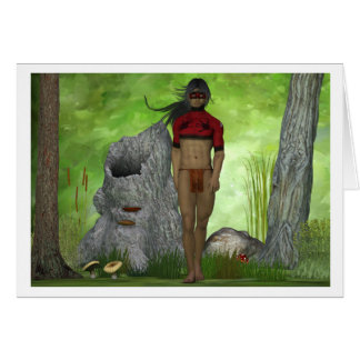 Forest Native Greeting Card