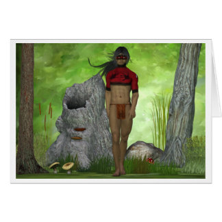 Forest Native Note Card