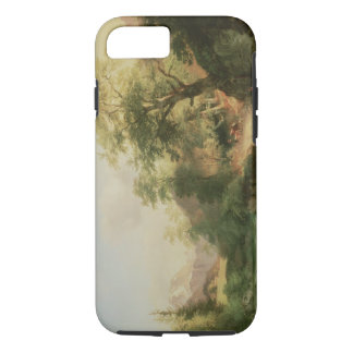 Forest near Vienna, 1852 (oil on canvas) iPhone 8/7 Case