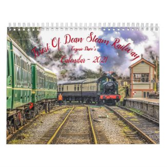 Forest Of Dean Steam Railway Calendar - 2021