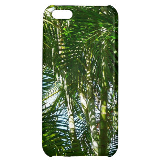 Forest of Palm Trees Tropical Green iPhone 5C Cases
