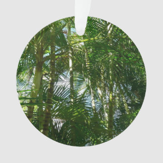 Forest of Palm Trees Tropical Green Ornament