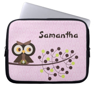 Forest Owl Woodland Hoot Night Protective Case Computer Sleeve