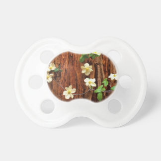Forest Pacific Dogwood Redwood Baby Pacifier