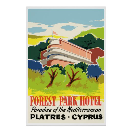 Forest Park Hotel (Plasters - Cyprus) Poster