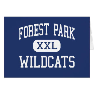 Forest Park Wildcats Middle Franklin Greeting Card