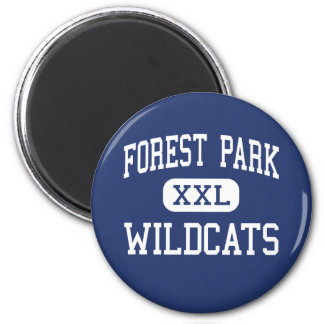 Forest Park Wildcats Middle Franklin Magnet