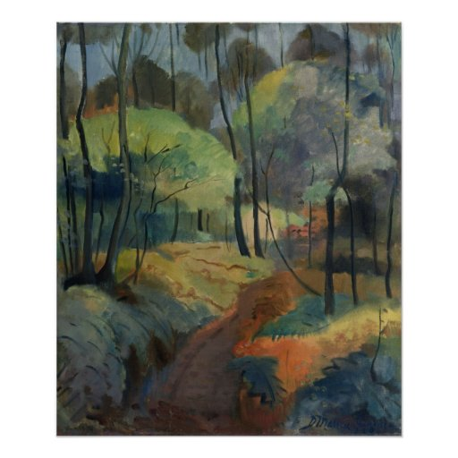 Forest Path, 1920 Poster