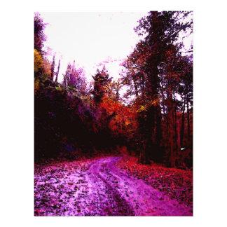 Forest Path 21.5 Cm X 28 Cm Flyer