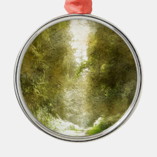 Forest Path Christmas Ornament