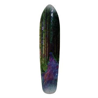 Forest Path Drawing 21.3 Cm Mini Skateboard Deck