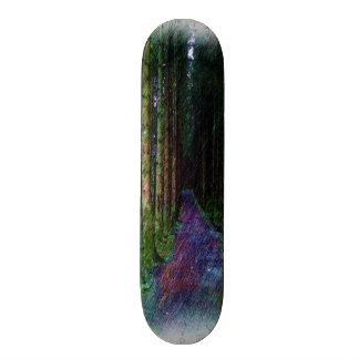 Forest Path Drawing Skateboard Decks