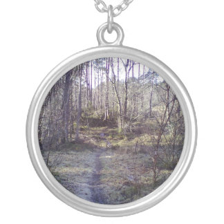 Forest Path in the Forest Necklace