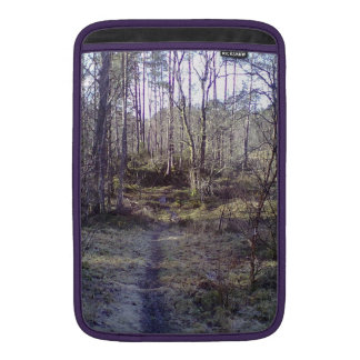 Forest path MacBook sleeve