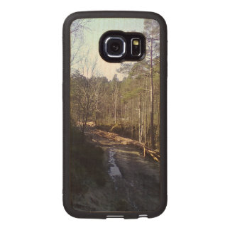Forest Path Wood Phone Case