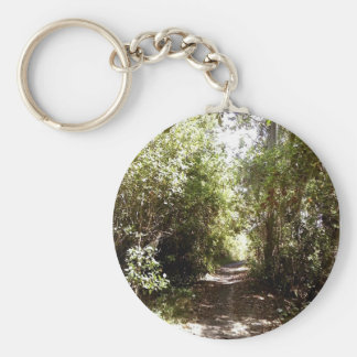 Forest Pathway Key Ring