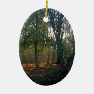 Forest Peace Christmas Ornament