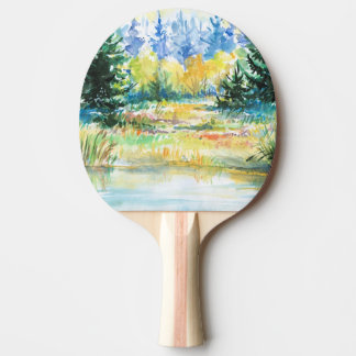 Forest Ping Pong Paddle
