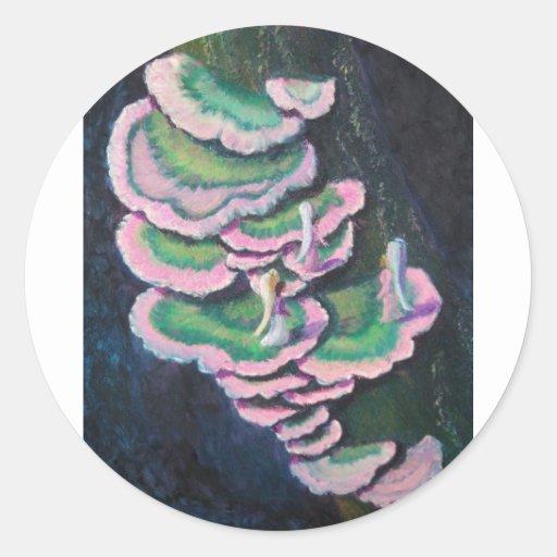 Forest Pixies Round Sticker