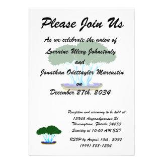 forest planting bonsai graphic green invert announcements