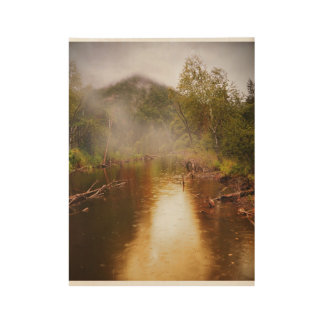 Forest -Pond Wood Poster